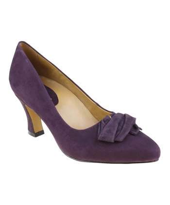 Blackberry Prantini Suede Pump