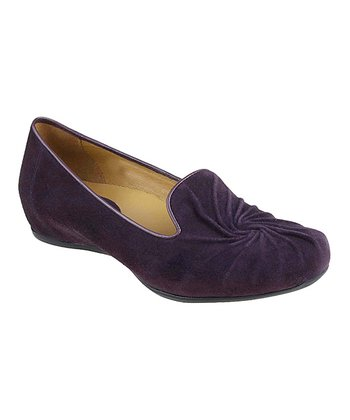 Blackberry Zuma Suede Flat