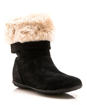 Black Alpine Boot