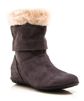 Gray Alpine Boot