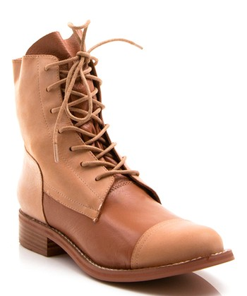 Tan Leather Bijoux Boot