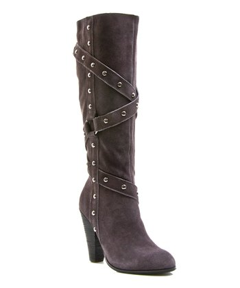 Gray Suede TNT Boot