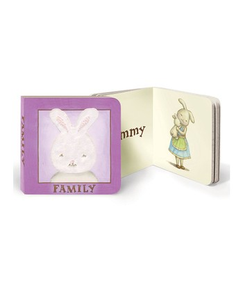 Purple Bloom Family Board Book