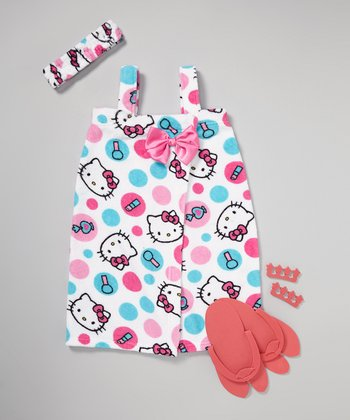 White Hello Kitty Spa Set - Girls