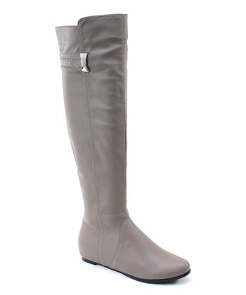 Taupe Riding Boot