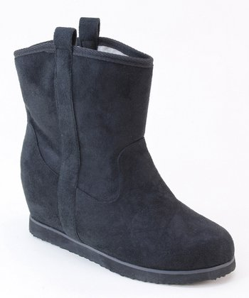 Black Dual Loop Boot