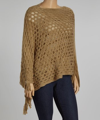 Gold Poncho - Plus