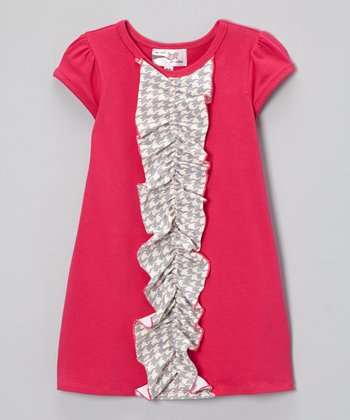 Fuchsia Kylee Dress - Infant, Toddler & Girls