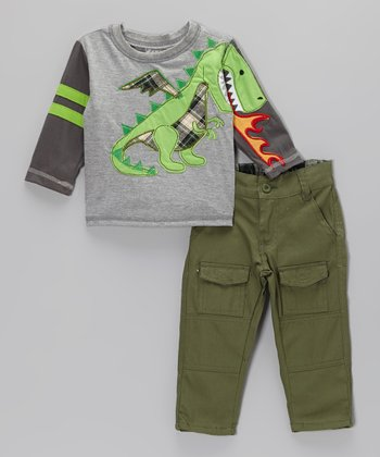 Green Dragon Tee & Pants - Infant