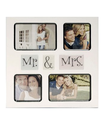 'Mr. & Mrs.' Quadruple Frame