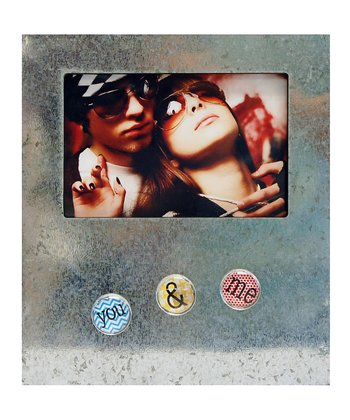 'You & Me' Button Frame