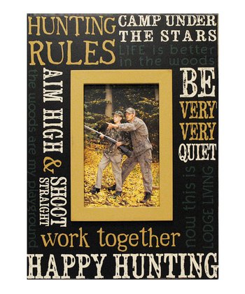 'Hunting Rules' Frame