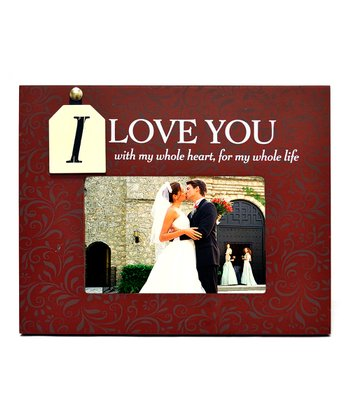 'I Love You' Frame