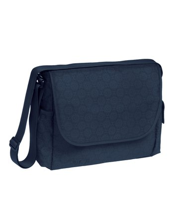 Lässig Navy Marv Messenger Diaper Bag