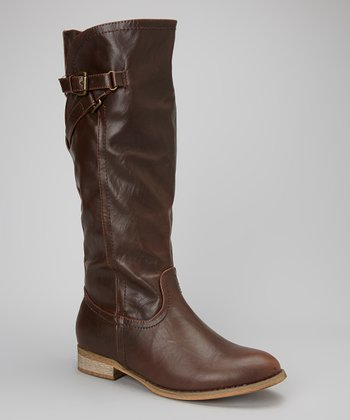 Brown Abelia Boot
