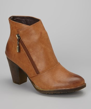 Cognac Dramon Ankle Boot