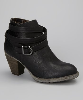 Black Kezia Ankle Boot