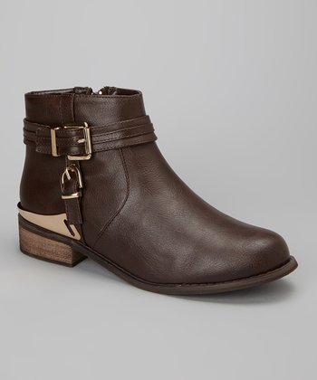 Brown Lubrano Ankle Boot