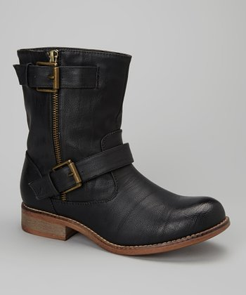 Black Oluchi Boot