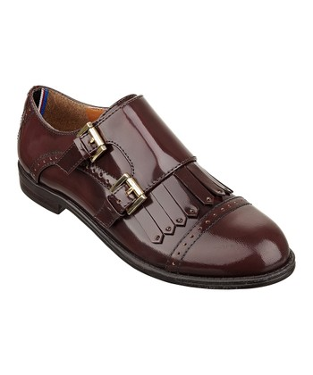 Beetroot Leather Cuddle Loafer