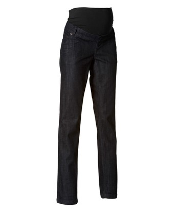 Dark Wash Helsinki Trouser Maternity Jeans