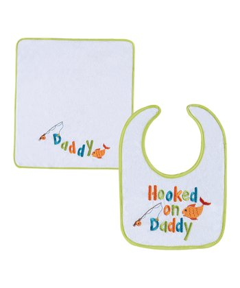 'Daddy' Bib & Burp Cloth
