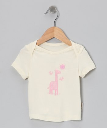 Natural & Rosie Giraffe Organic Tee - Infant & Toddler