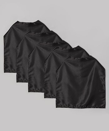 Black Cape - Set of Five