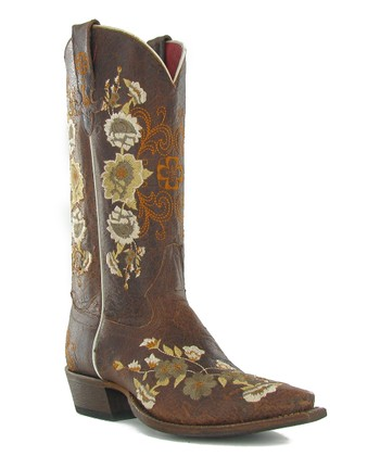 Chocolate Rose Garden Boot - Women