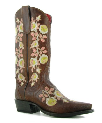 Natural Tan Rosa Lee Boot - Women