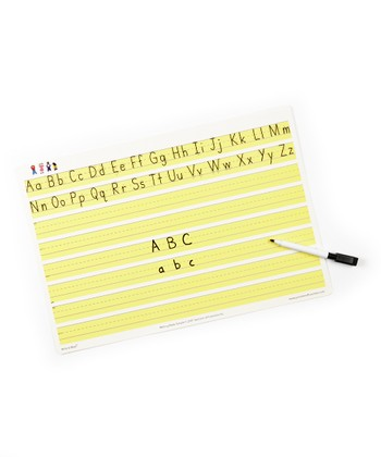 Writing Made Simple Dry Erase Mat Set