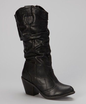Black Cindy 1 Boot