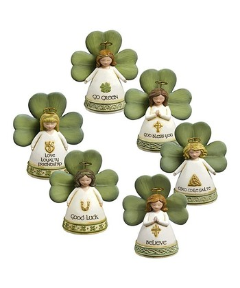 Celtic Tradition Angel Figurine Set