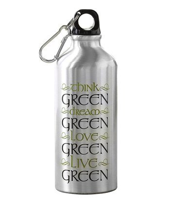 'Think Green' 22-Oz. Water Bottle