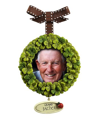 Grasslands Road Shamrock 'Grandfather' Ornament