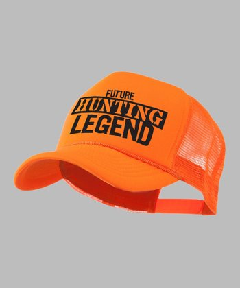Bright Orange 'Future Hunting Legend' Trucker Hat