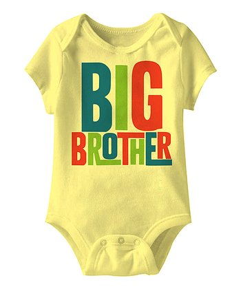 Banana 'Big Brother' Bodysuit - Infant