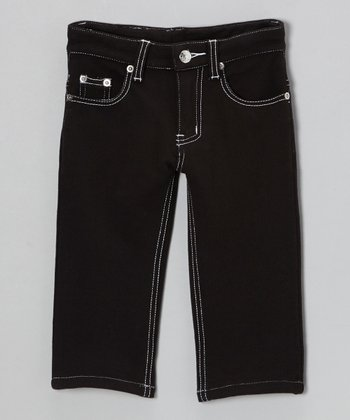 Black Franco French Pants - Infant, Toddler & Boys