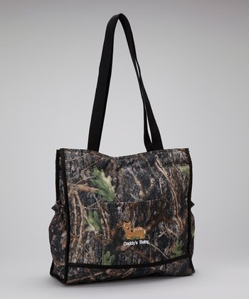 Conceal Green Camouflage 'Daddy's Baby' Large Diaper Bag