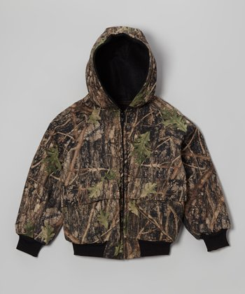 Conceal Green Camouflage Bomber Jacket - Infant, Toddler & Boys
