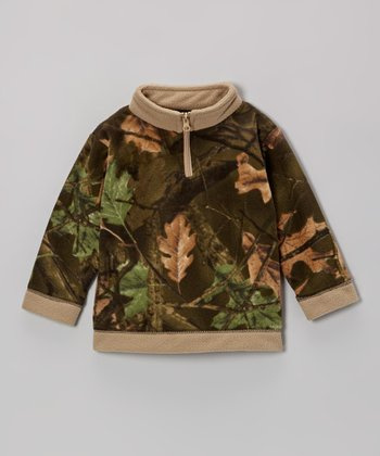 Birch & Camo Fleece Pullover - Infant & Toddler