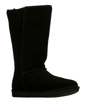 Black Powder Puff Mid-Calf Boot
