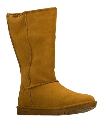 Tan Powder Puff Boot