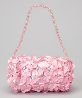 Light Pink Ruffle Princess Purse