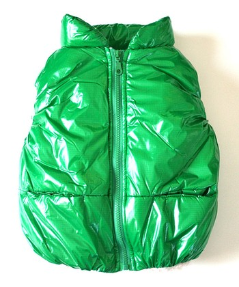 Green Puffer Vest - Infant, Toddler & Kids