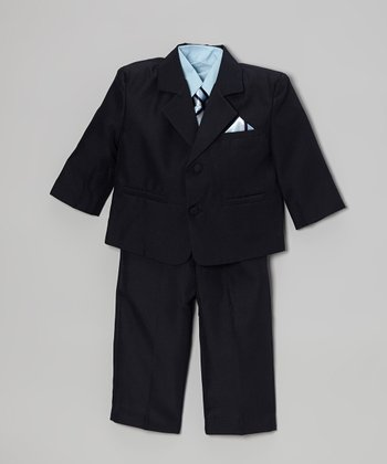 Navy Suit Set - Infant, Toddler & Boys