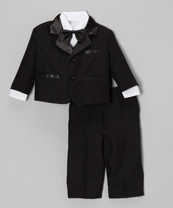 Black Tuxedo Set - Infant, Toddler & Boys