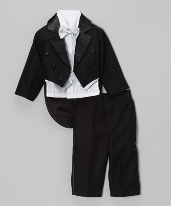 Black Tux Set - Infant, Toddler & Boys