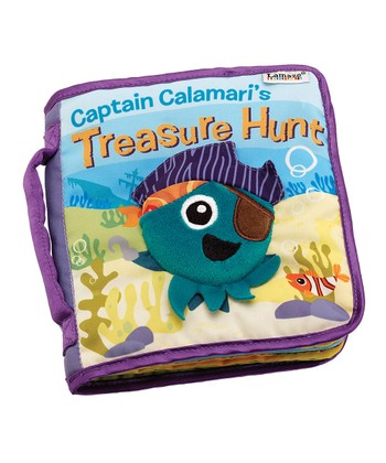 Captain Calamari's Treasure Hunt Book