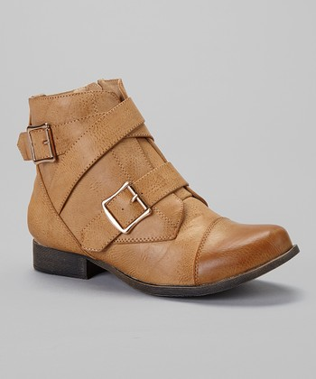 Light Tan Prima Strap Boot